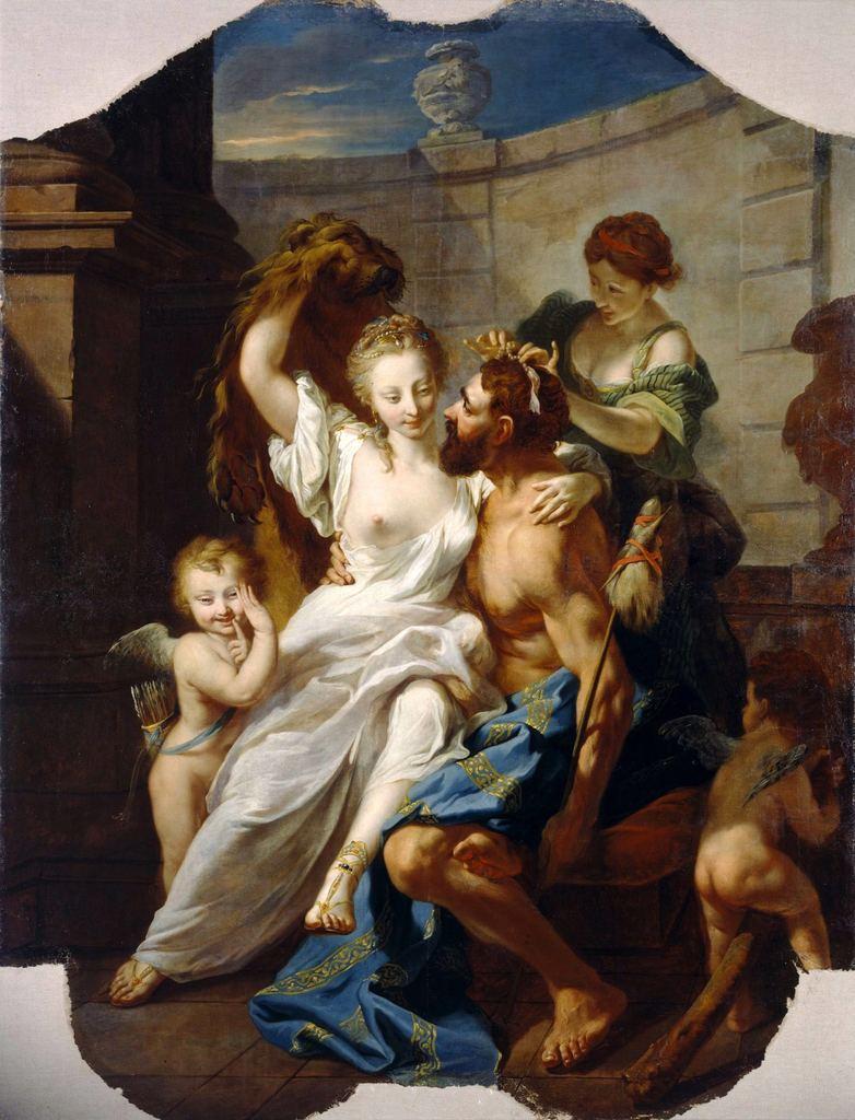 Tischbein 1754 Hercule et Omphale Staatliche Museen, Kassel