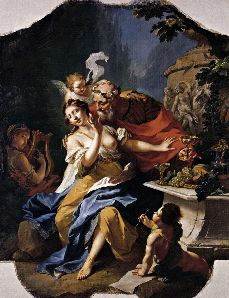 Tischbein 1754 The_Mocking_of_Anacreon Staatliche Museen, Kassel