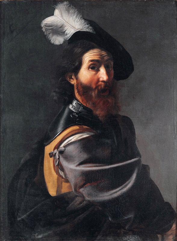 Tournier 1630 ca Un soldat Musee des Augustins Toulouse