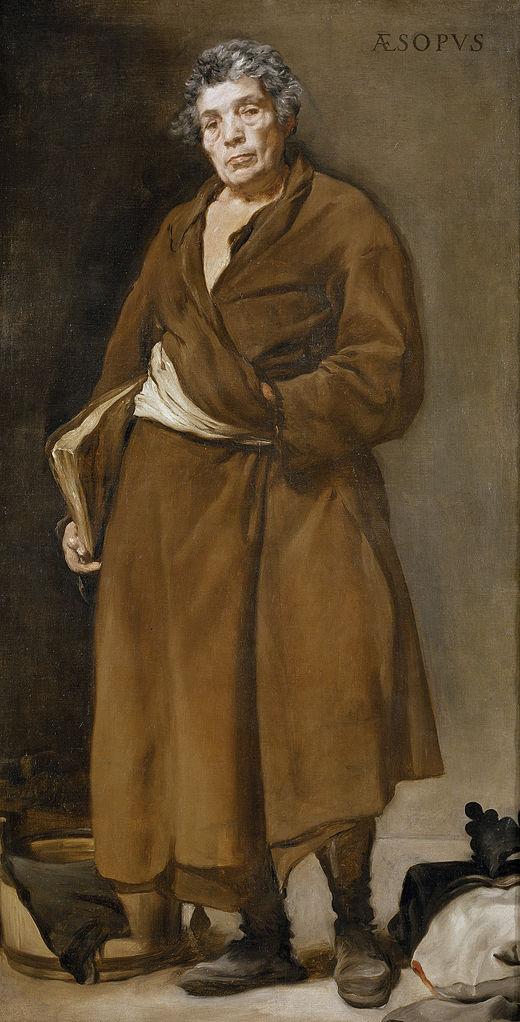 Velazquez 1639-41 Esope Prado