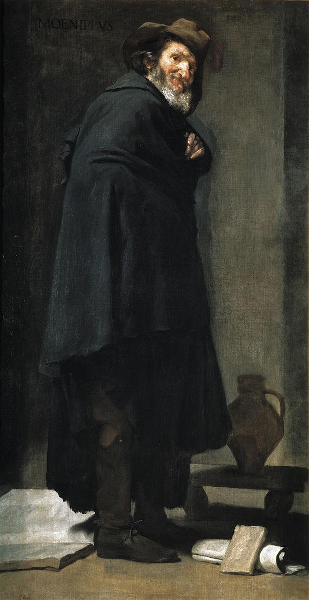 Velazquez 1639-41 Menippe Prado