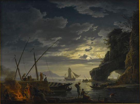 Vernet 1752 Le soir Collection privee