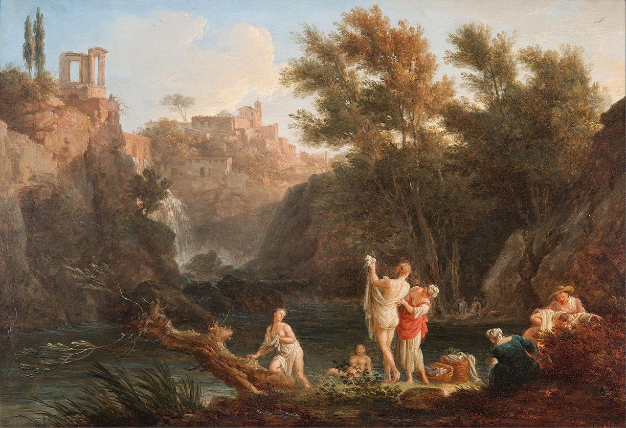 Vernet 1757 Les quatre heures du jour Soir Art Gallery of South Australia, Adelaide
