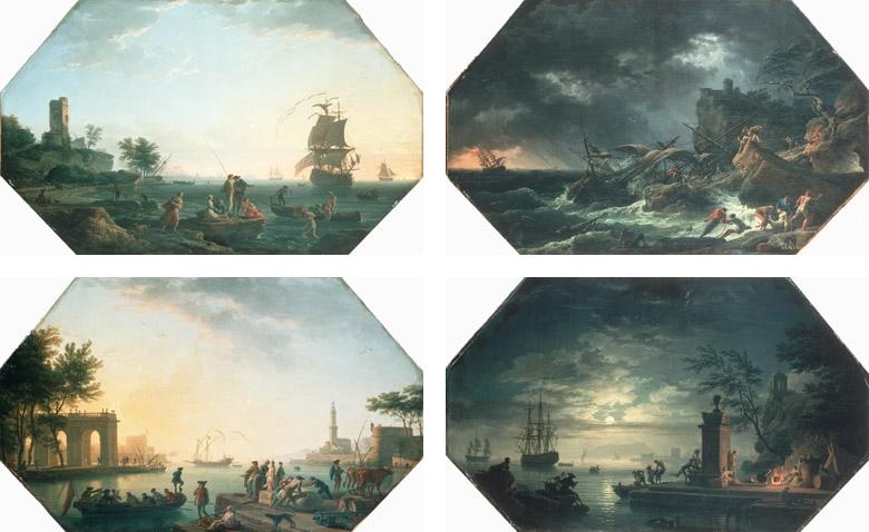 Vernet 1762 Serie Dauphin Ensemble