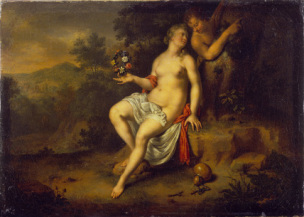 Wilhelm van mieris 1698 Paris and Oenone Wallace Collection Londres