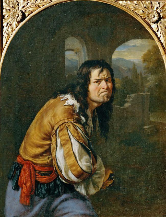 Willem-van-Mieris-1683-Un-voyou-Allegorie-de-la-Colere-Kunsthistorisches-Museum-Vienne
