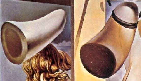 dali jeune-vierge-autosodomisee-par-les-cornes-de-sa-propre-chastete-1954 cornes