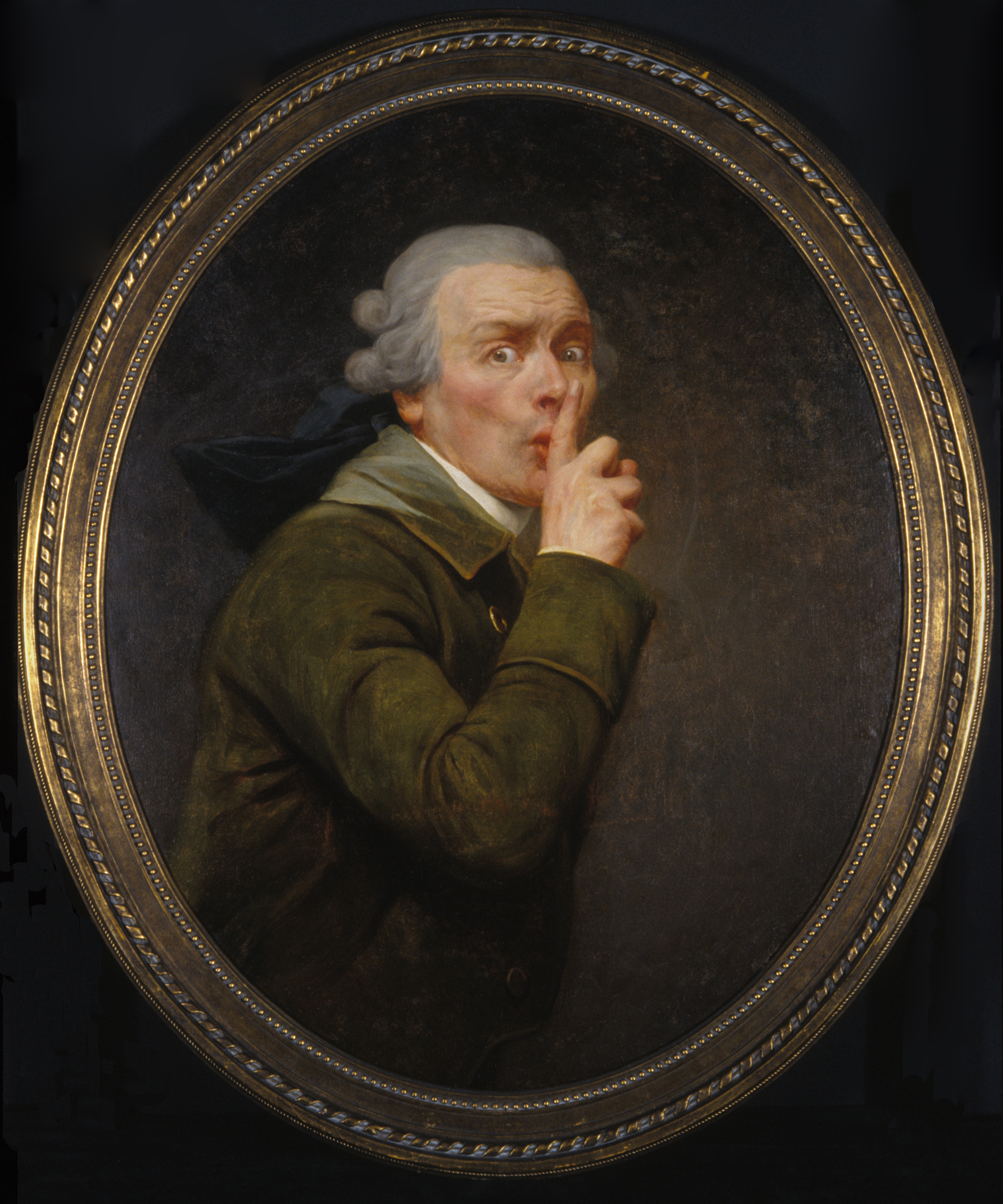 ducreux 1791 Le-discret Spencer Museum of Art, University of Kansas, Lawrence, Kansas