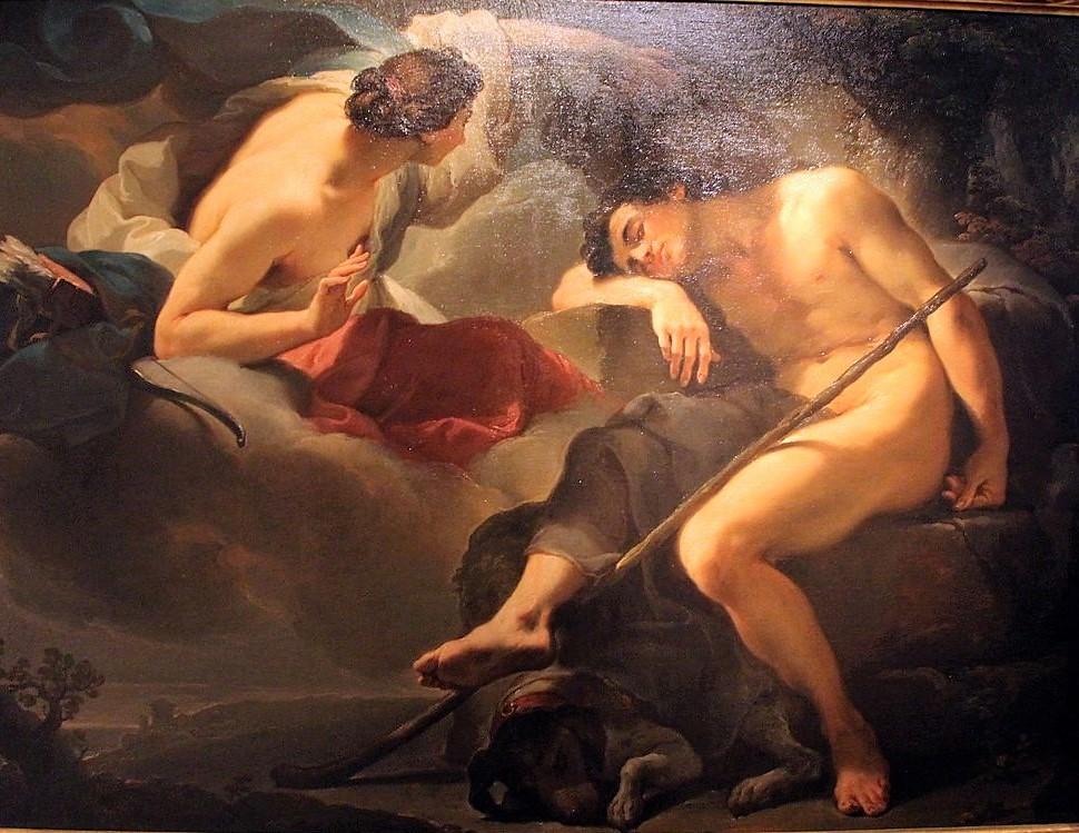 gandolfi Ubaldo 1770 diane et endymion,_collez._comunali,_bologna