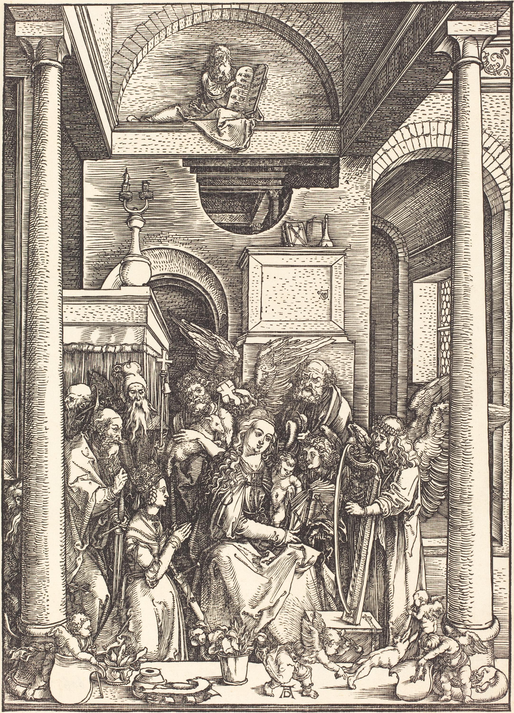 Albrecht_Durer_-_The_Glorification_of_the_Virgin_(NGA_1943.3.3592) 1511
