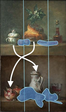 Chardin 1763 schema
