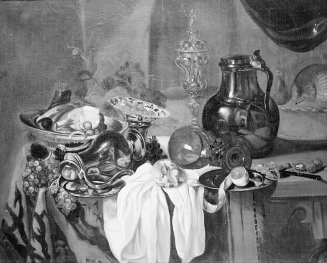 Cornelis_Cruys_-_A_Jug_Fruit_Food_and_other_Things_on_a_Table_-_KMSst539_-_Statens_Museum_for_Kunst-Copenhague