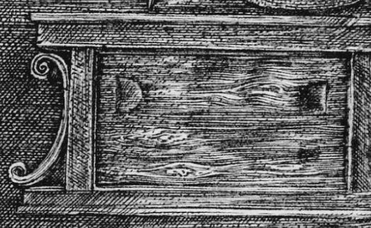 Durer 1514 Saint Jerome dans son etude_placard