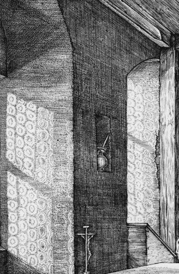 Durer 1514 Saint Jerome dans son etude_vitraux