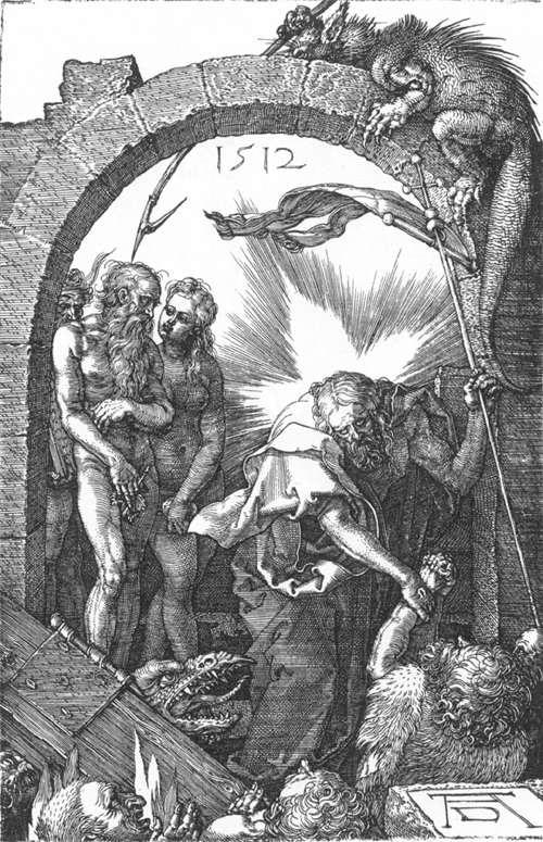 Durer La petite Passion Descente du Christ aux Enfers