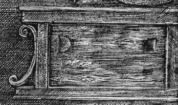 Durer Saint Jerome Placard