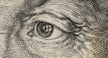 Durer-portrait-de-frederic-II-de-Saxe-1524-detail