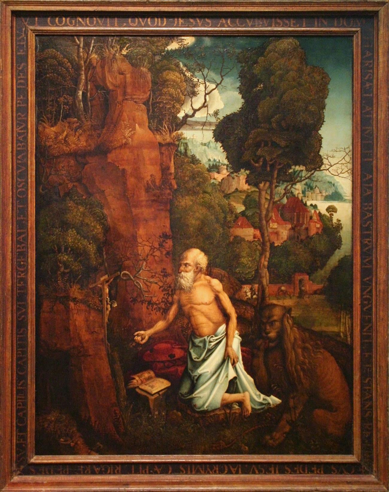Hans_Durer_-_The_Penitent_St_Jerome_in_a_landscape