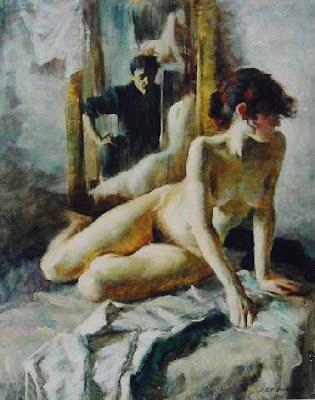 LYAPKALO viktor-alexandrovich 1989 Self-portrait