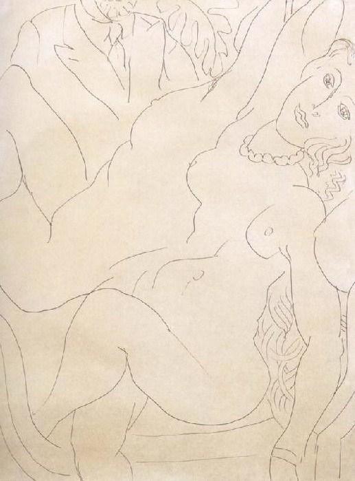 Matisse 1936 la modele dans le miroir