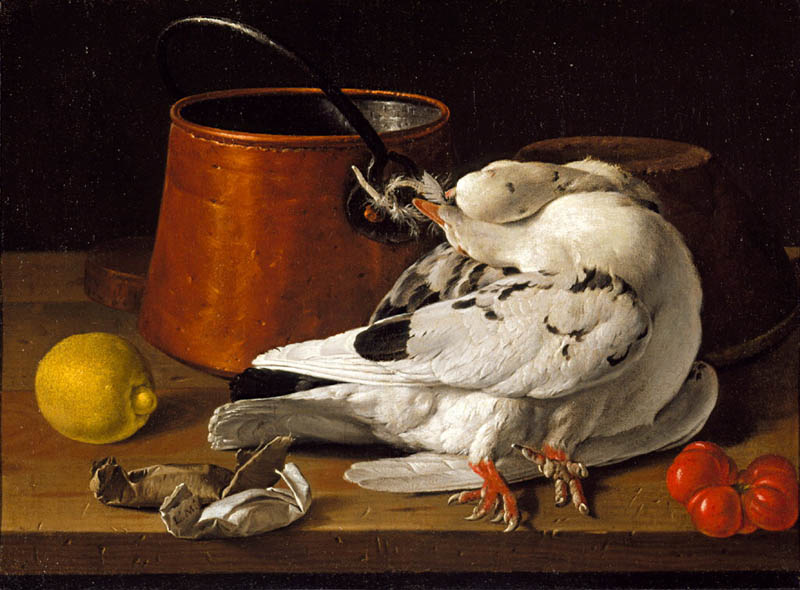 Melendez 1770 ca Still Life with Game north carolina museum of Art raleigh