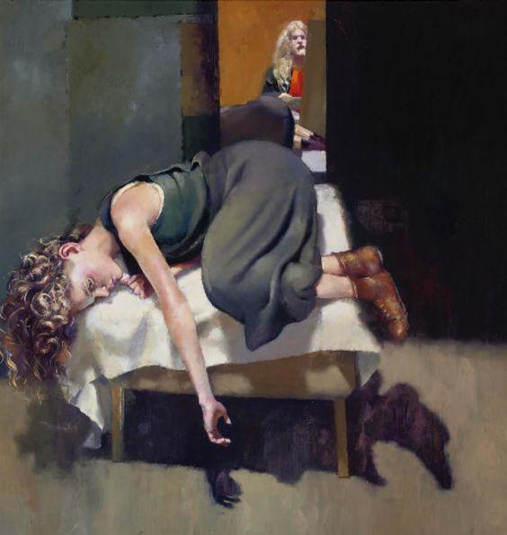 Robert Lenkiewicz 1993 The Painter With Lisa Stokes