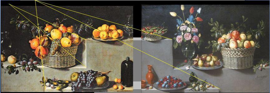 Van der Hamen 1629 Still_Life_schema