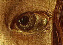 albrecht-durer-self-portrait-1498 left-eye-c-third