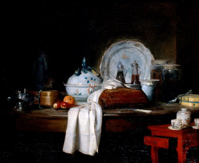 chardin 1756 la_table_d office musee des beaux arts Carcassonne