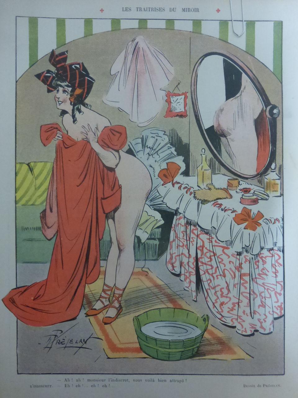 1907 Prejelan Les traitrises dumiroir