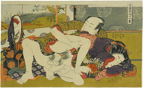 Isoda Koryusai Twelve Bouts of Sensuality ca. 1775-77