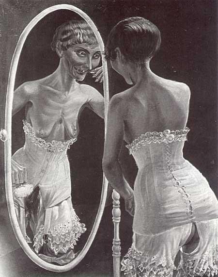 otto dix1921 Le miroir