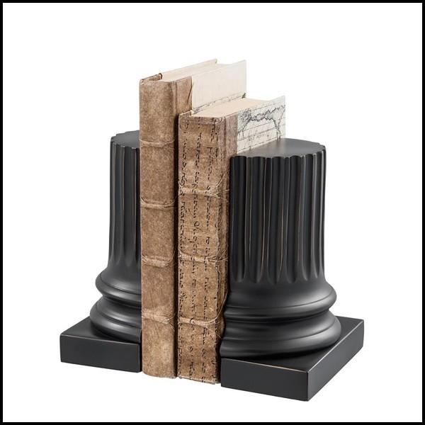 serre-livres-miroir objet coupe colonne