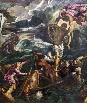 Tintoret Saint Marc sauve un Sarrazin