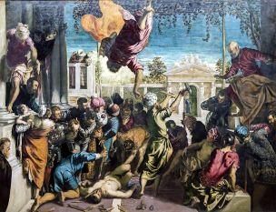 Tintoret St. Marc libère un esclave