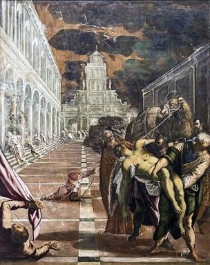 Tintoret The Translation Of St. Mark