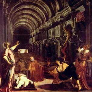 Tintoret la decouverte du corps de St. Marc