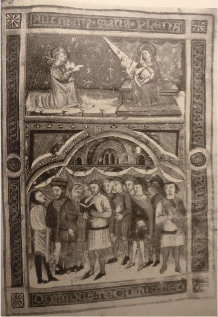 1382 Mastro Girardo Statuts des mastellari (tonneliers) Bibliotheque Ferrare