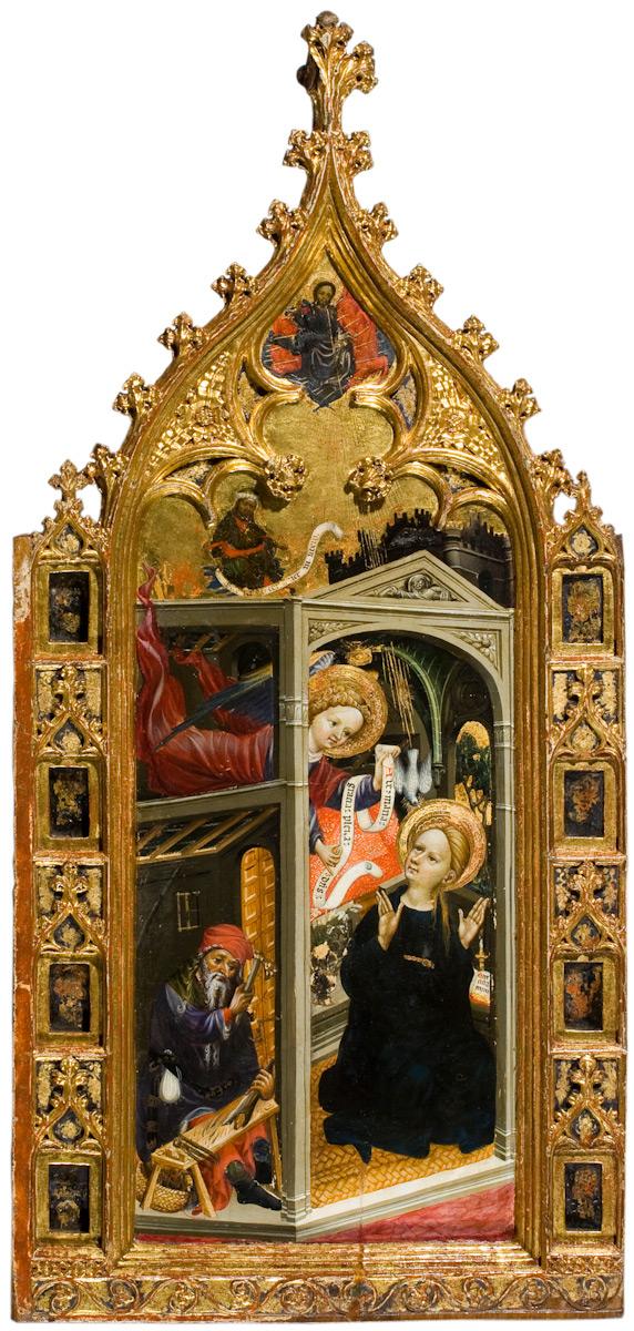 Annonciation Marzal de Sas 1393-1410 Saragosse Musee provincial
