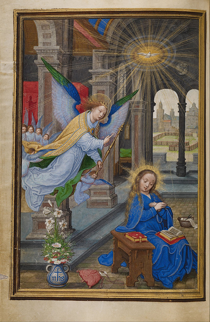 Annonciation Simon_Bening 1525-30 Getty Museum Malibu