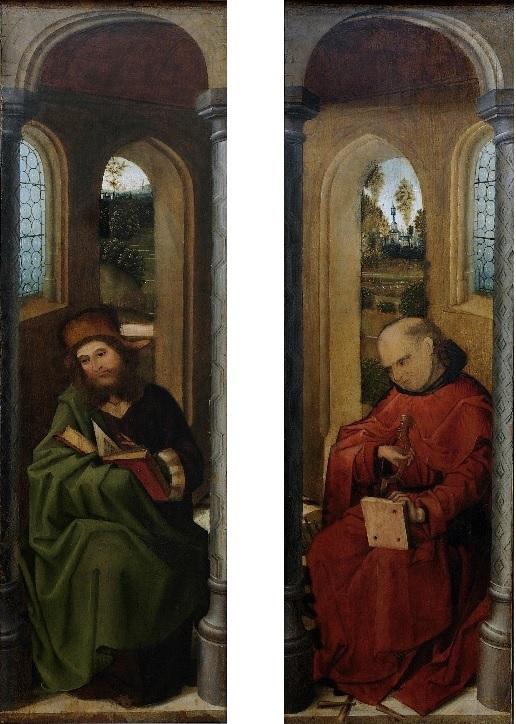 Annonciation avec Joseph XVeme Museo Correr Venise 2