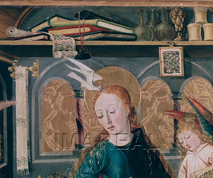 Flugelaltar Meister des Eggelsberger Altars Oberosterreich 1481 detail