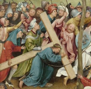 Hieronymus Bosch Christ Carrying the Cross (detail) (1490-1510) Gemaldegalerie, Kunsthistorisches Museum, Vienna