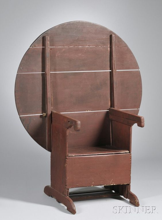 Hutch or tilt top table XIX siecle