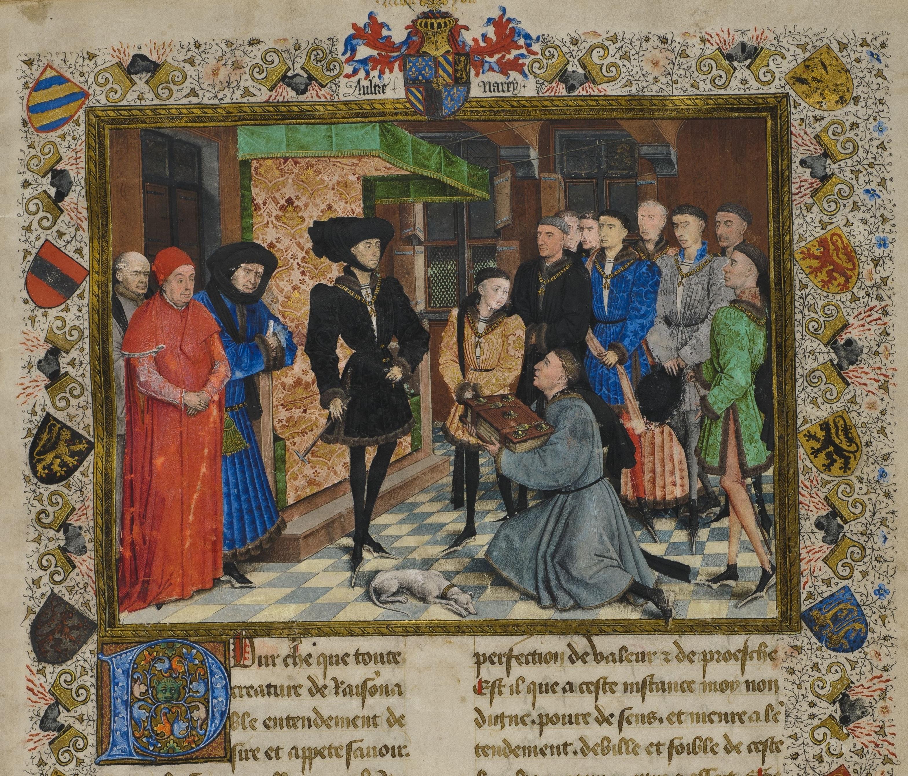 Jacques_de_Guise,_Chroniques_de_Hainaut,_frontispiece,_KBR_9242