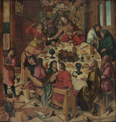 Last Supper Jorg Ratgeb, 1505-1510 Boijmans van Beuningen