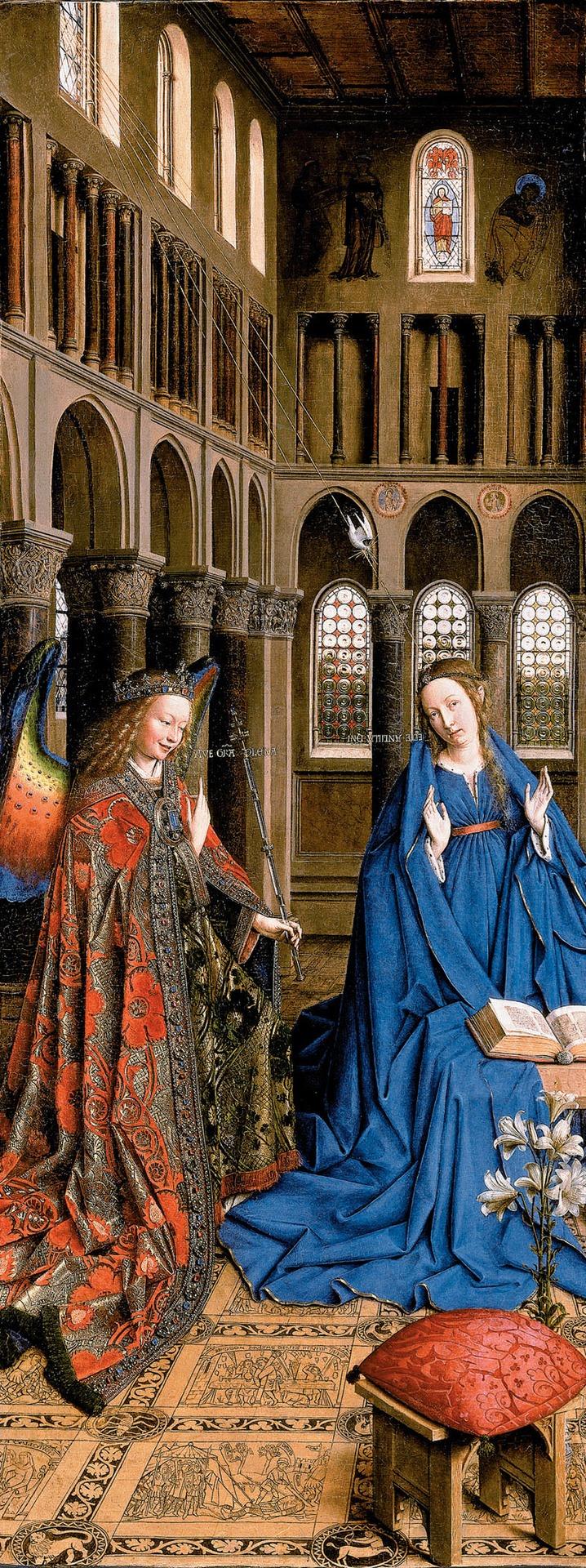 Van Eyck Annonciation