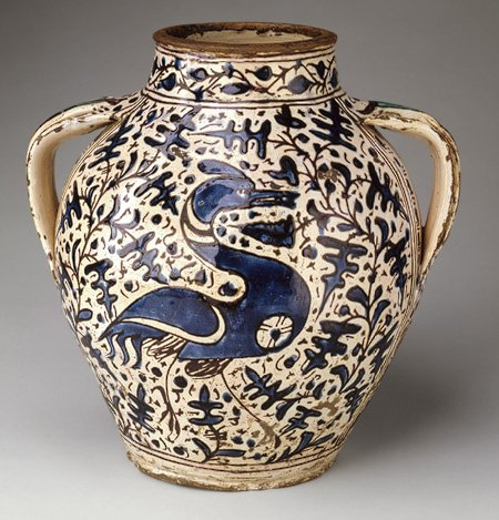 met Apothecary Jar, ca 1431 Florence