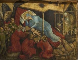 1370-72 Master Konrad, Schloss Tirol Altar Tiroler Landesmuseum Ferdinandeum in Innsbruck