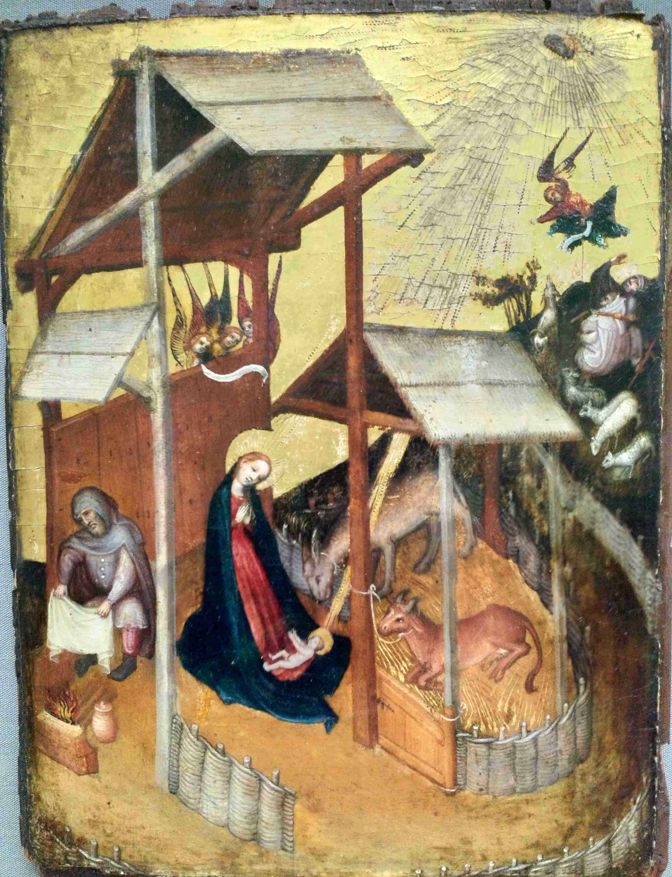 1420 ca Allemagne du Sud La nativite Musee des BA Bale